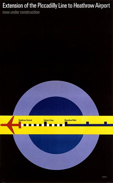 Extension Of The Piccadilly Line To Heathrow (1971)