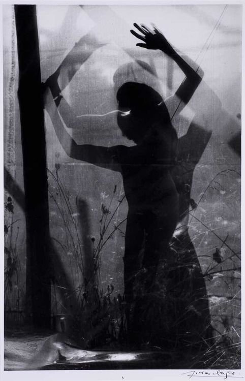 © LUCIEN CLERGUE - Caco au Grand Herbier, 1975 - has a feeling of being trapped to me.