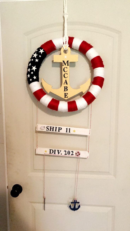 PIR Door Hangers  US Navy Boot Camp Graduation