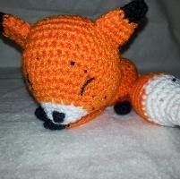 You have to see Sleepy Fox Amigurumi by Adorably Kawaii!