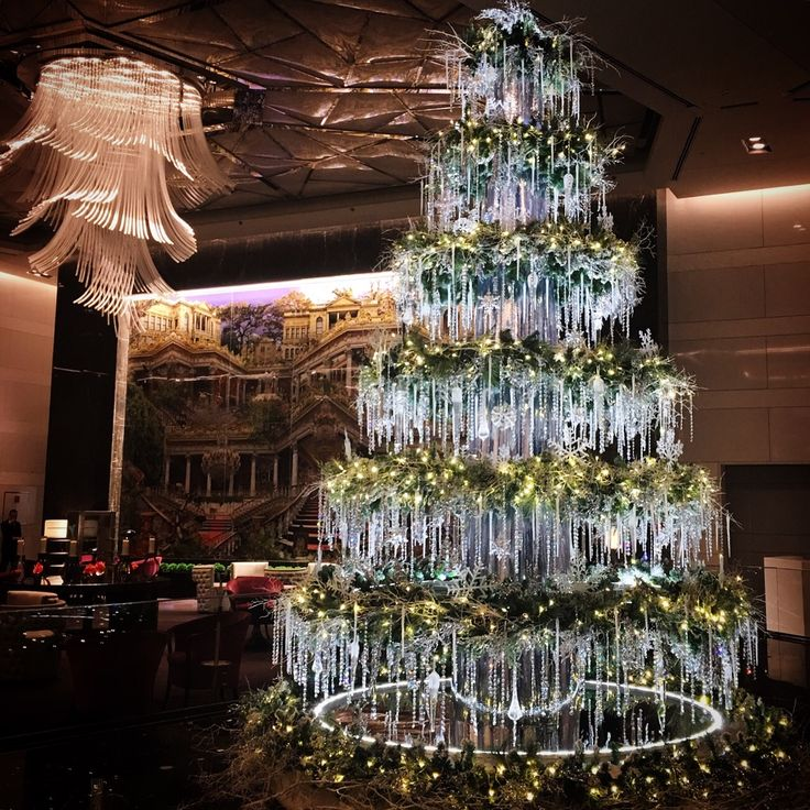 D'lara Chocolate & Events — Crystal Christmas Tree created by d'lara Events...