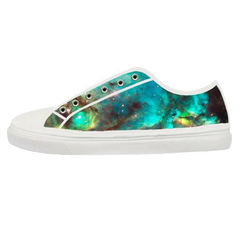 Green Galaxy Shoes