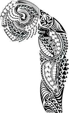 plantillas tatuajes brazo entero