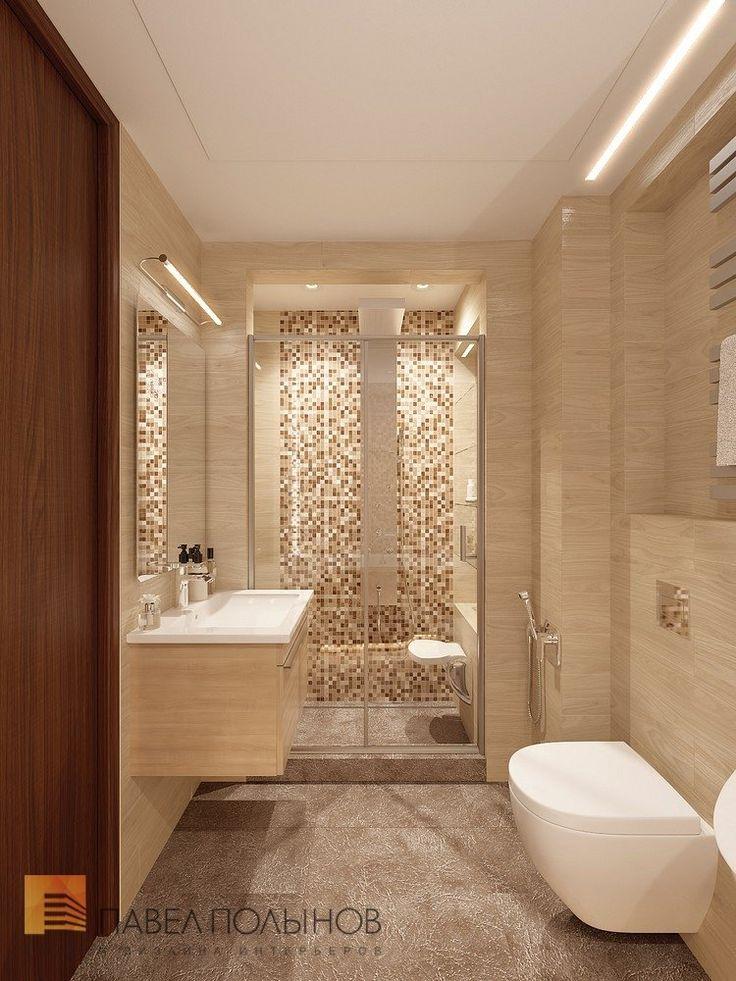 Фото: Ванная комната - Квартира в современном стиле с элементами лофта, ЖК «Эдельвейс», 102 кв.м.