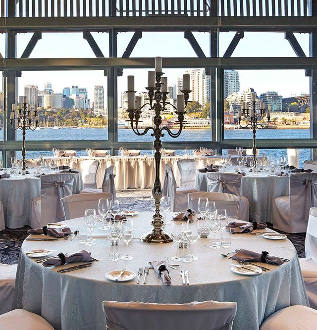Pier One | Walsh Bay. Visit http://www.i-do.com.au/wedding-tips/the-wedding-reception/?utm_source=pinterest&utm_medium=organic&utm_campaign=general&utm_term=reception%20 for all things wedding reception. #waterviewwedding #wedding #weddingreception