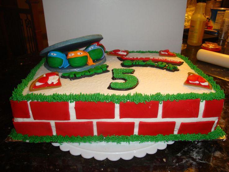 Teenage Mutant Ninja Turtles Birthday cake — Birthday Cakes
