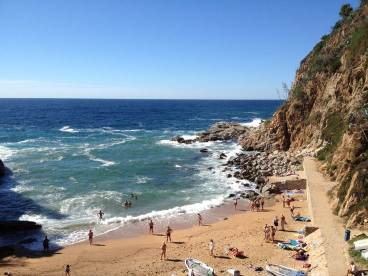 Tossa de Mar Beach