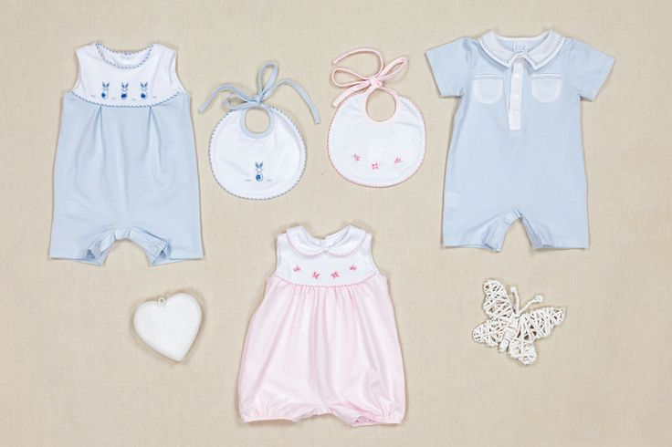 blue and rose body and bibs