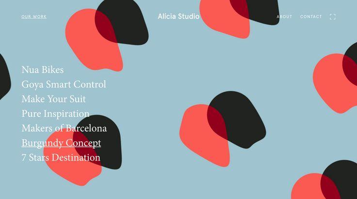 Alicia Studio Web Design