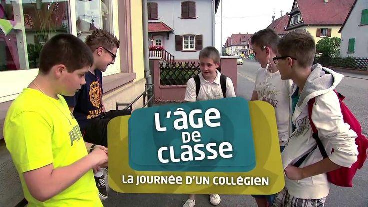 La journée d'un collégien. Comparez les horaires, les transports, les cours et la vie scolaire en générale. Le niveau de langue n'est pas trop élevé, donc la vidéo est accessible à plusieurs niveaux.