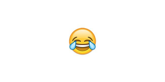 Mas sim um emoji