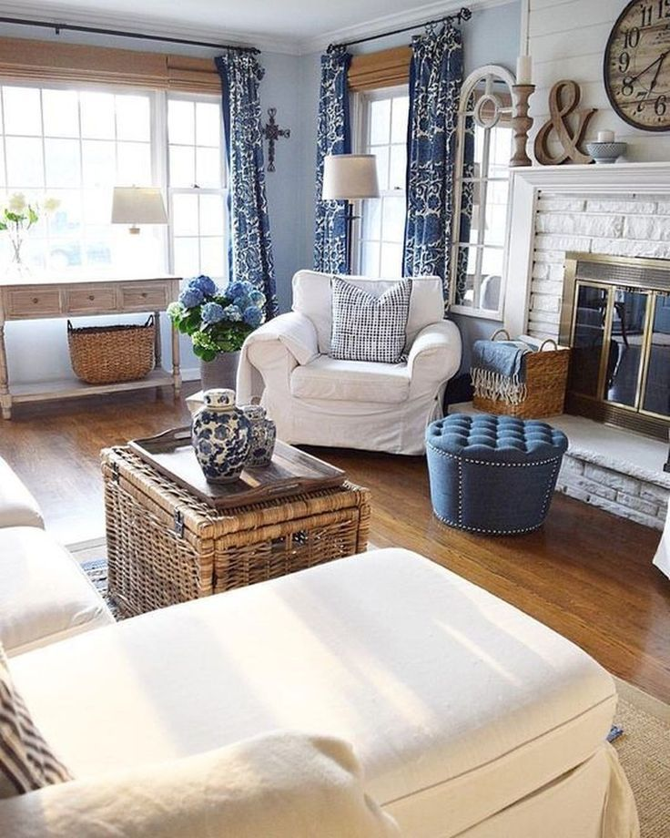 Perfect French Country Living Room Design Ideas 10 Coastal Decorating Living Room Country House Decor Country Living Room
