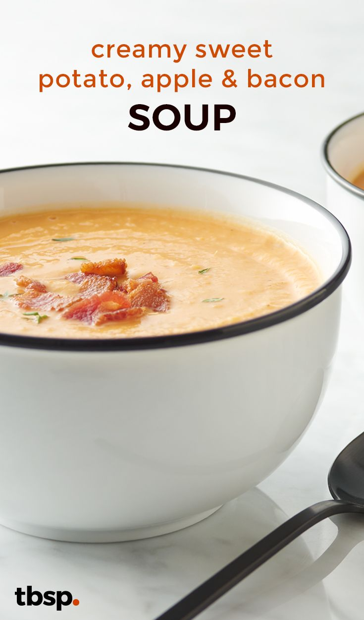 This soup is fall in a bowl. Quick, easy and supremely satisfying, we recommend pairing with your favorite sweater for the ultimate autumn experience.