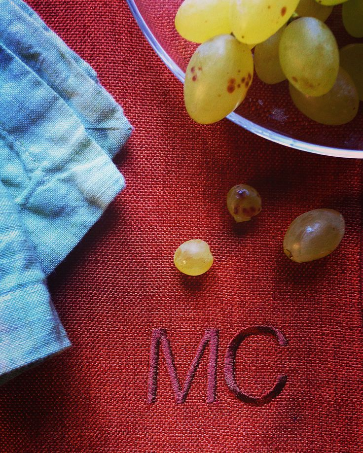MarinaC - our Easy Chic placemat - easy wash easy care #marinacmilano #effortlessly chic