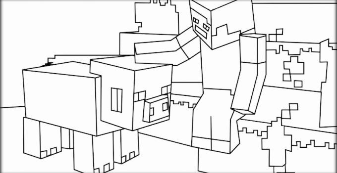 Minecraft Herobrine Para Colorear Y Imagenes De Minecraft: Minecraft Dibujos Para Imprimir