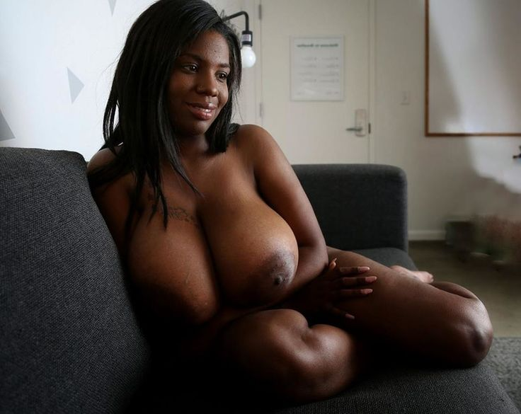 Big titties and ass on this pretty black stallion