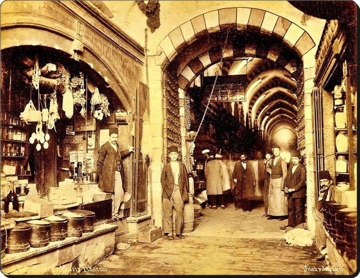 Mısır çarşısı - 1880'ler