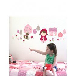 Little Boo-Teek - Decals and Stickers Speckled House Wall Decal - Little Red $42.95 www.littlebooteek.com.au #littlebooteekau #presents #kids #bedroom #playroom #decals #wallstickers