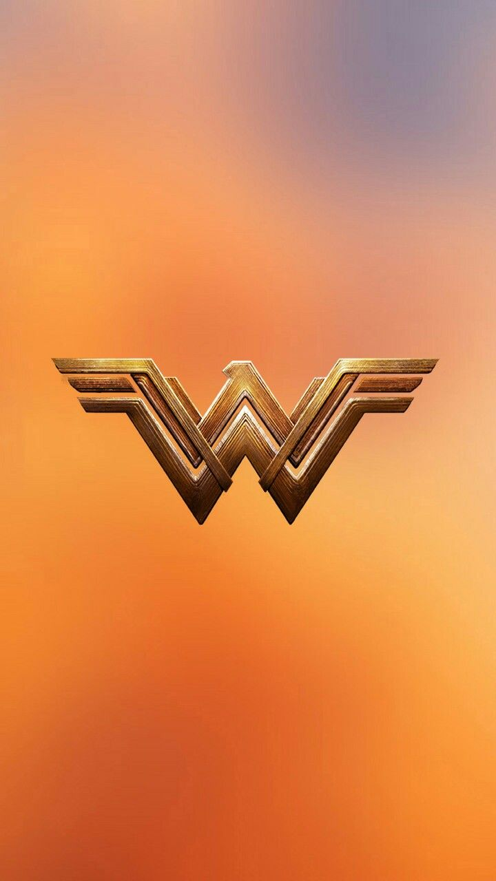 Wonder Woman movie logo phone wallpaper #DC