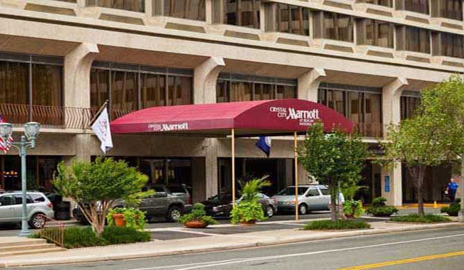 Crystal City Marriott at Reagan National Airport Enjoy style and substance at Crystal City Marriott at Reagan National Airport.    Our hotel is conveniently located in Arlington, VA - near the attractions of downtown Washington, as well as shopping... #Hotel  #Travel #Backpackers #Accommodation #Budget