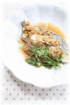 サワラの香り煮魚