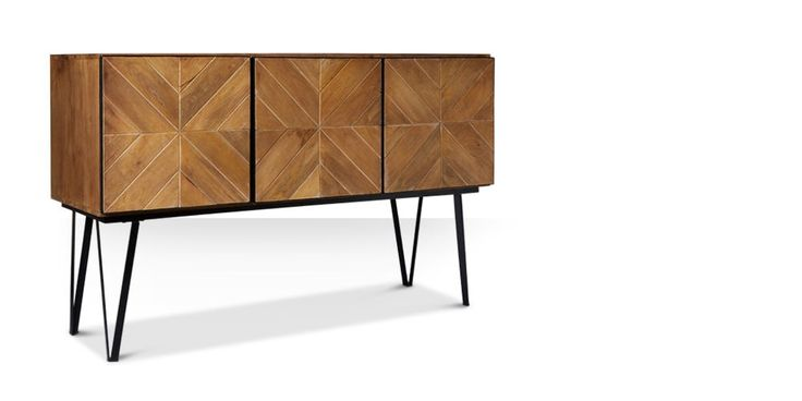 Swoon Editions Sideboard, parquet-style brimming with detail - £499