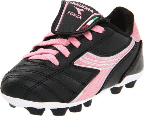 Diadora Forza MD Soccer Cleat (Little Kid/Big Kid) -                     Price:              View Available Sizes & Colors (Prices May Vary)        Buy It Now      DIADORA Forza MD Jr. Cleat.For the youth player, this shoe features a soft, polyurethane synthetic upper with a velcro-secured fold-over tongue. It also features a fixed...