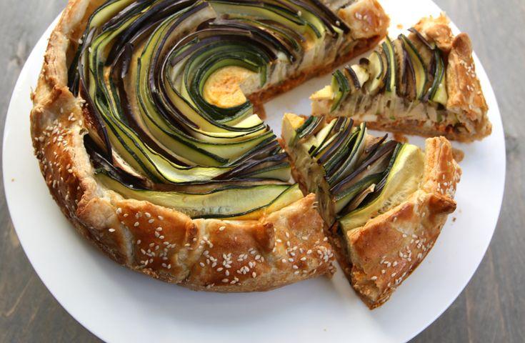 Vega groente taart • EEFSFOOD
