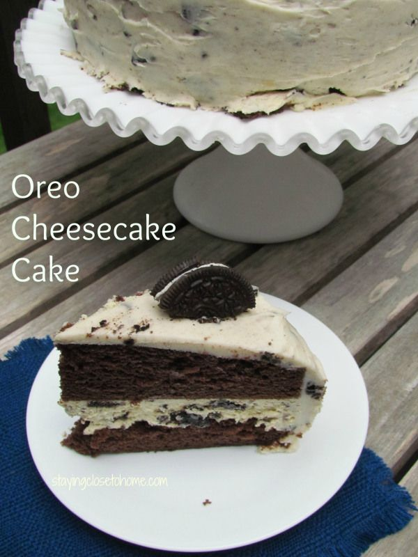 do you love oreo cheesecake?  how about Chocolate cake?  Then we have a winner with this oreo cheesecake cake Recipe