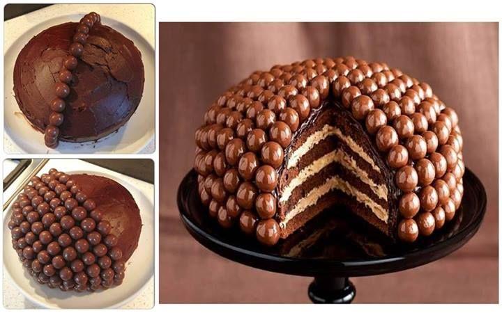Yummy and beautiful Maltesers Cake. Do you LIKE it?  #yesfor