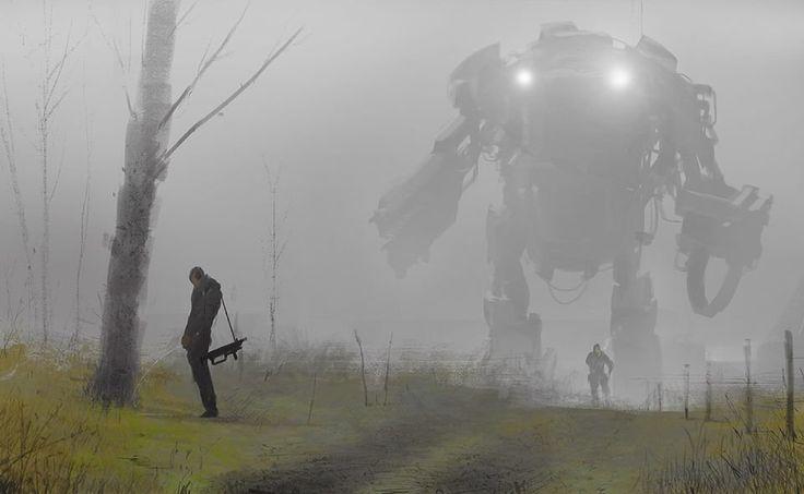 Robot in the mist