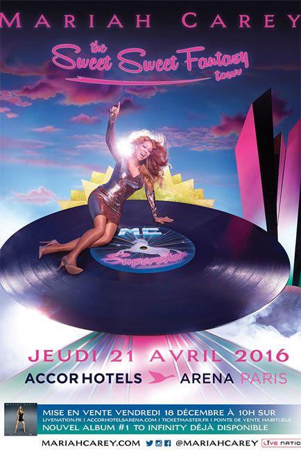 Sweet Sweet Fantasy : Mariah Carey en tournée européenne