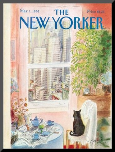 The New Yorker Cover - March 1, 1982 Mounted Print by Jean-Jacques ...