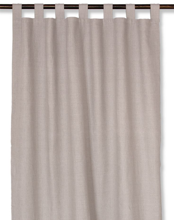 linen curtain with loops #curtain #linen