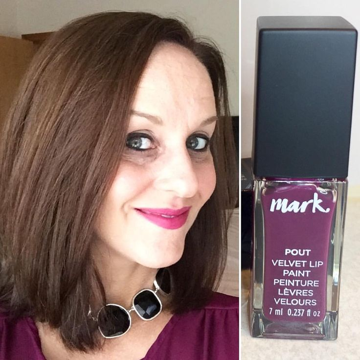 """2 Likes, 1 Comments - Heather Carr (@hethrgood) on Instagram: """"I'm wearing Avon's new Mark Pout Velvet Lip Paint in Fancy today - ooh la la! Get yours here:…"""""""