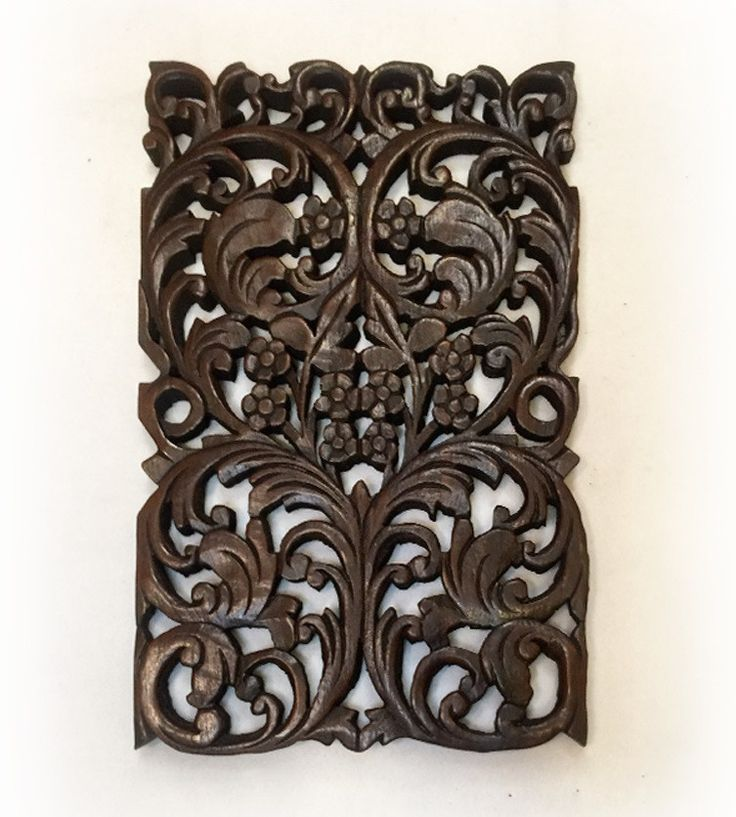 79 best Carved Wood Wall Decor by Asiana Home Decor images on