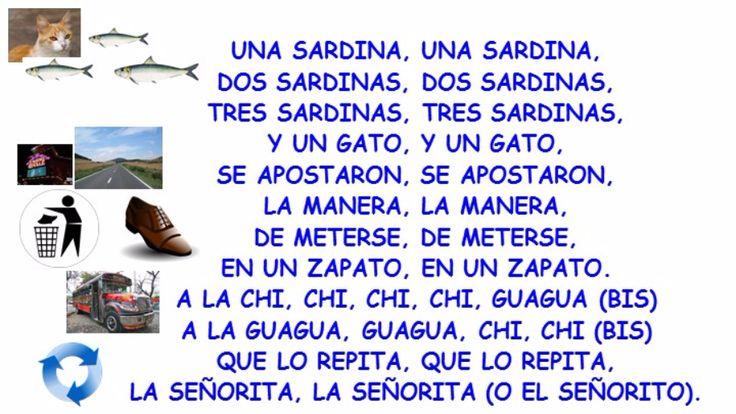 Una sardina song by Justo Perez-Estevez | theLearnia theLearnia - Free online whiteboard