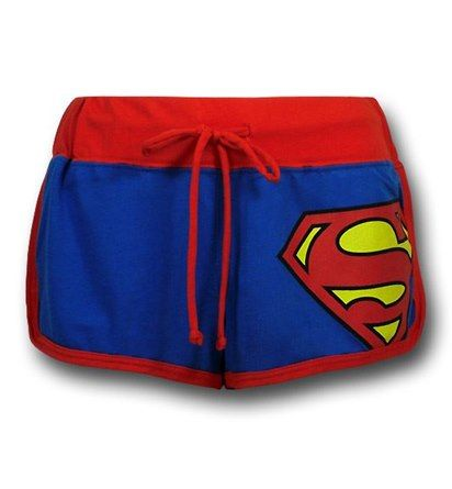 Images of Superman Women's Short Shorts