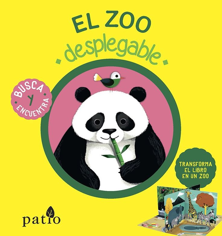 """El zoo despegable"" - Lucie Brunellière (Editorial Patio)"