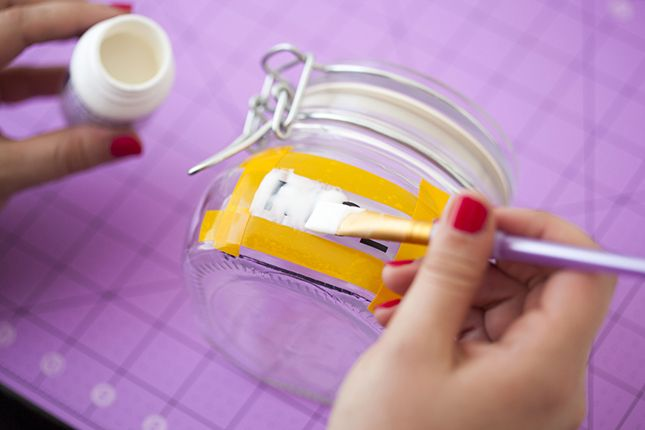 Adult Etch-a-Sketch: How to Etch Glass Bottles via Brit + Co.