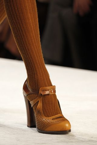 Fendi - Both the shoes and the tights tickle my fancies.