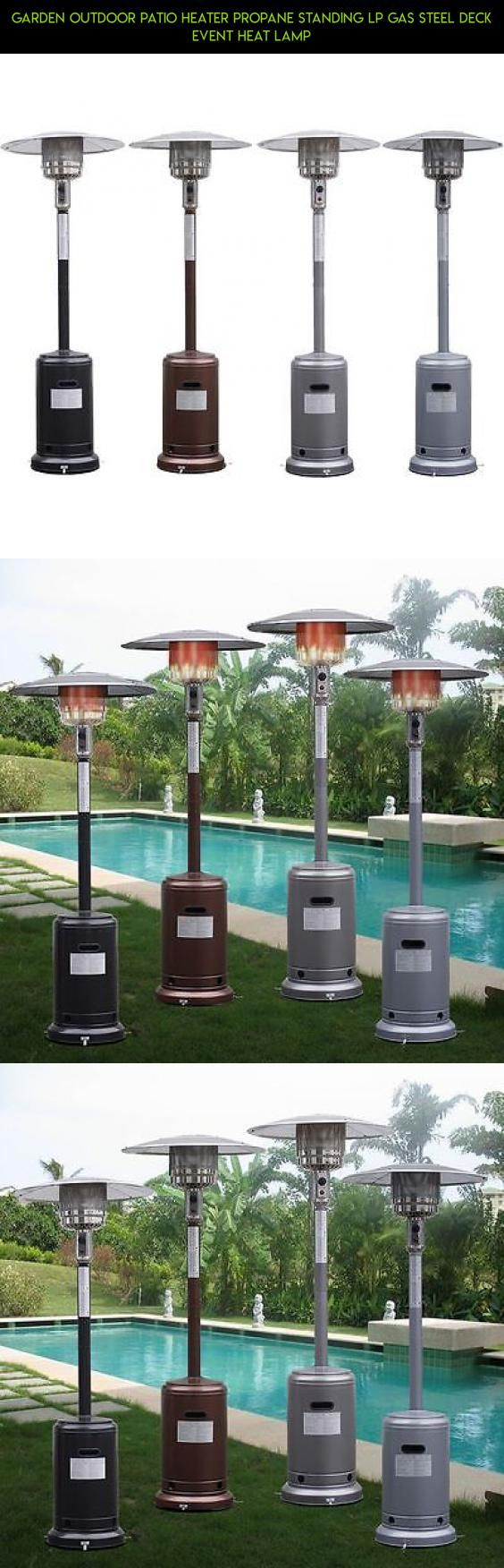 Garden Outdoor Patio Heater Propane Standing LP Gas Steel deck event Heat lamp #products #lamp #heating #racing #parts #plans #drone #gadgets #camera #shopping #tech #kit #fpv #technology