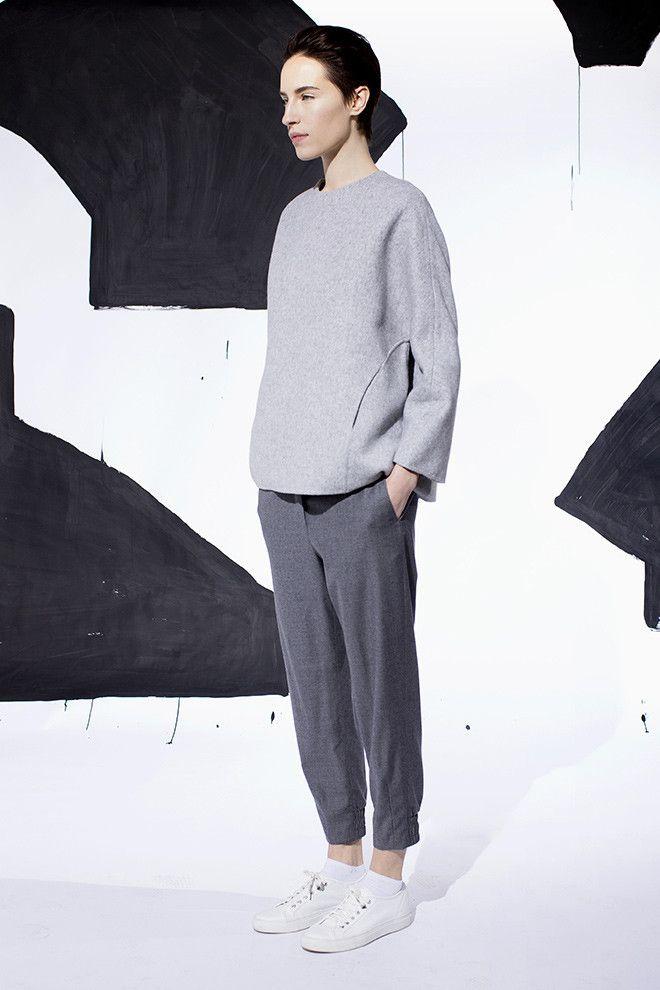 pre fall 2014 look 08 attire pinterest mode pour fille style minimaliste et id es de tenues. Black Bedroom Furniture Sets. Home Design Ideas