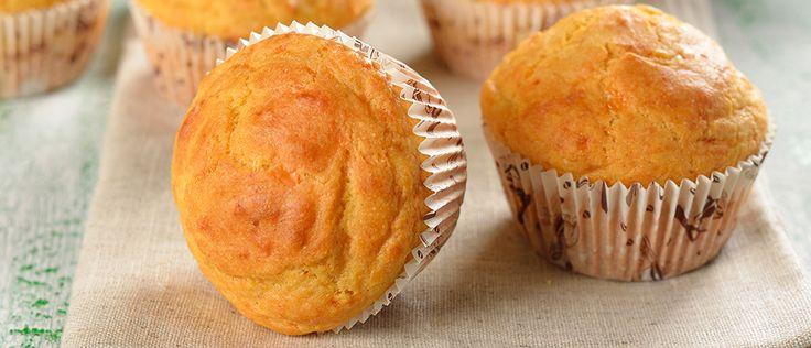 Muffin de batata doce - Lucilia Diniz