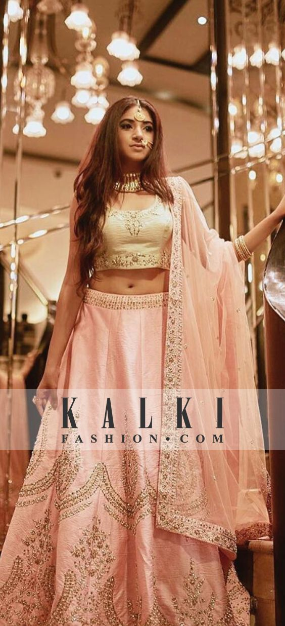 The stunner fashion blogger @aashnashroff looking ever so beautiful in our @kalkifashion lehenga SKU: 348143 . . @Regrann from @aashnashroff - Own every step ✨  @mohitvaru .
