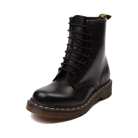 Shop for Womens Dr. Martens 1460 8 Eye Boot in Black at Journeys Shoes.