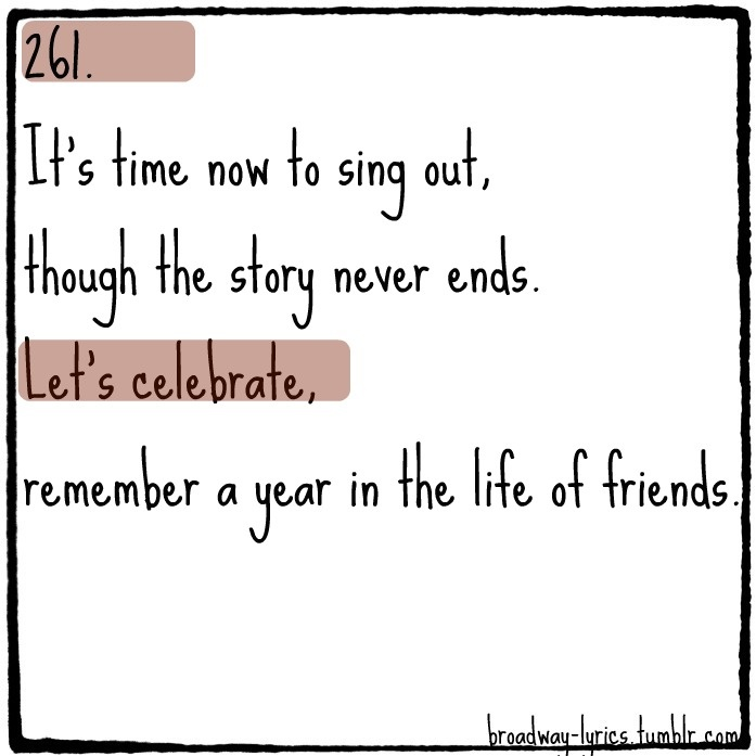 Seasons of Love from Rent | Sayings worth reading... | Pinterest