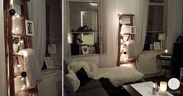 Old ladder decor /// deko mit alter Leiter (by clodi www.5raum.de)