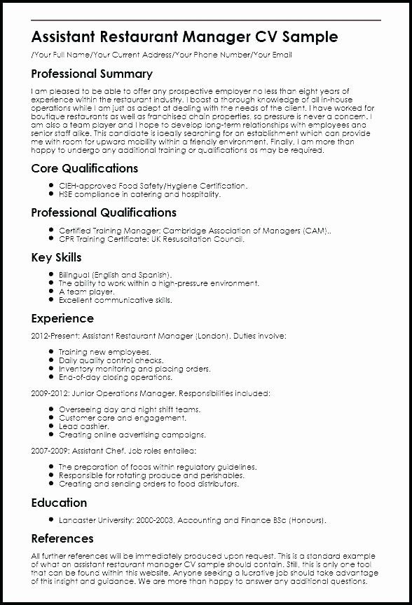 Assistant Manager Resume Description Unique 12 13 Accounting Responsibilities Resume In 2020 Manager Resume Resume Examples Job Resume Samples