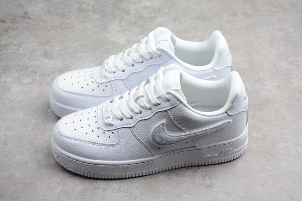 "98f58bc2ca5 2018 Womens Nike Air Force Low 1-100 ""Triple White"" AQ3621-111 in ..."